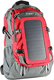 ECEEN Solar Backpack Solar Charger Bag with 7 Watts Solar Panel for iPhone, iPad, iPod, Samsung Galaxy Series