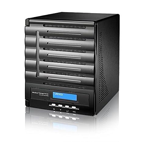 Thecus W5000 Servidor de Almacenamiento Torre Ethernet Negro ...