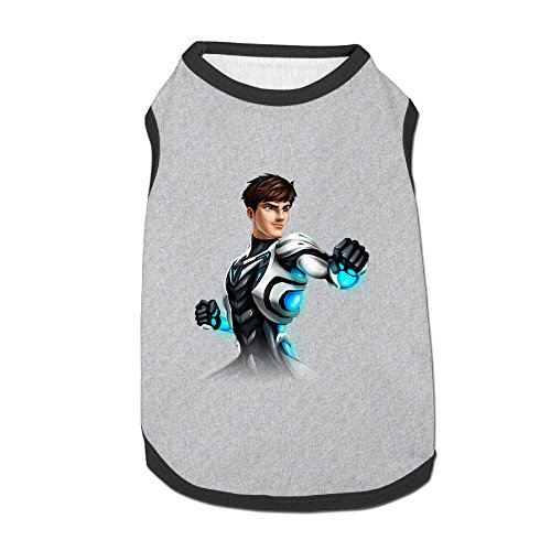 [Max Hero Pose Awesome Dog Clothes Sweaters Shirt Hoodie For Puppy] (Dredd Halloween Costume)