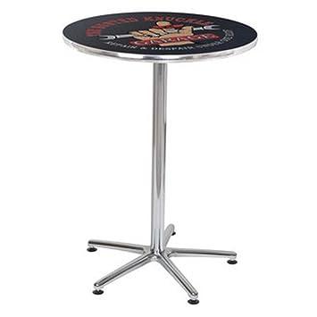 Amazon.com: Busted Knuckle Garage mesa alta de bar: Kitchen ...
