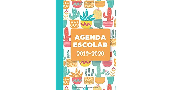 Amazon.com: Agenda Escolar 2019-2020: Cactus (Spanish ...