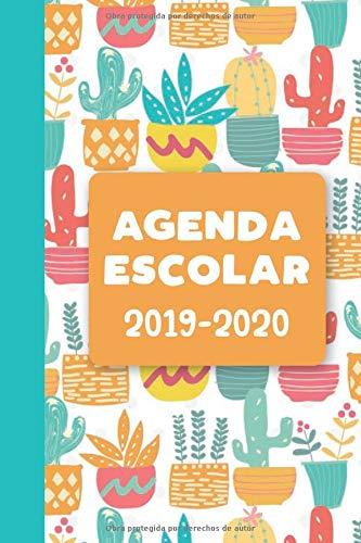 Agenda Escolar 2019-2020: Cactus (Spanish Edition ...