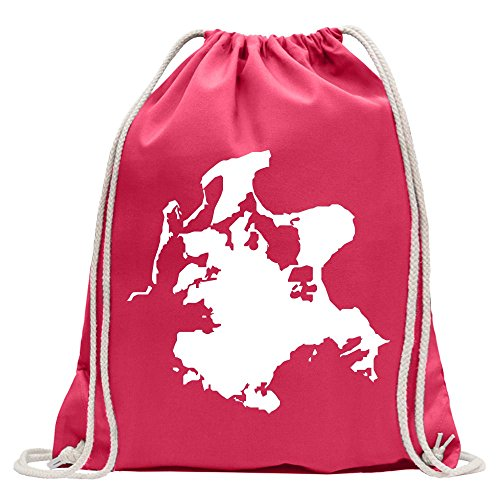 Rügen - Germany - island Fun sport Gymbag shopping cotton drawstring (Ruegen Island)