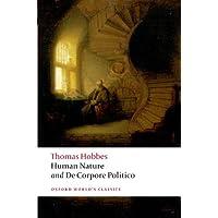 Human Nature & de Corpore Politico