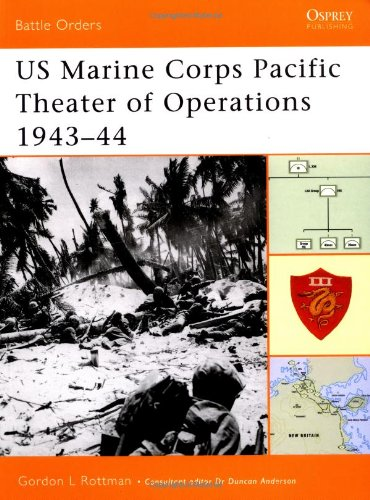 US Marine Corps Pacific Theater of Operations 1943–44 (Battle Orders) (v. 2)
