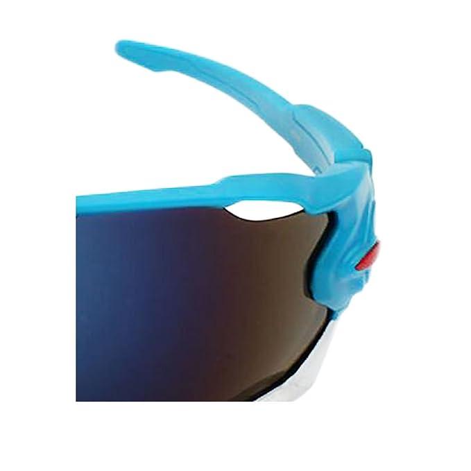 ZCFX Sport da Equitazione all'aperto,Occhiali da Sole da Bici,Vento e Polvere,Protezione Dai Raggi UV,Occhiali da Sole da Uomo,Occhiali da Equitazione,YJ08