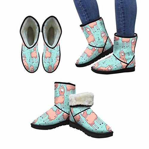 Scarponi Da Neve Womensprint Design Deco Di Art Print Con Simpatici Stivali Invernali Dal Design Unico E Comfort Multi 1