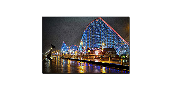 Details about  /UK England Blackpool The Big One Jigsaw Puzzles for Adults Kids 1000 Pieces Wood