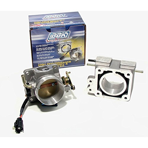 BBK 1600 75mm Throttle Body And EGR Spacer Plate Kit - High Flow Power Plus Series for Ford Mustang 5.0L ()