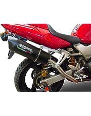 Honda VTR1000F Firestorm High Mount Kit GPR Uitlaat Furore Zwart geluiddempers HIGH