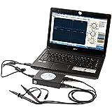 SainSmart DDS140 Poche sur PC Portable USB Oscilloscope Numérique 40MHz de Bande Passante 200MS / s Noir (Téléchargement du Logiciel Disponible sur la Description)