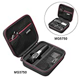 Case for Philips Norelco Multigroom Series 3000/5000 and Attachments - Fit Philips Multigroom MG3750/MG5750/MG5760 Trimmer