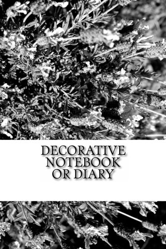 Download Decorative Notebook or Diary: (Black & White) ebook