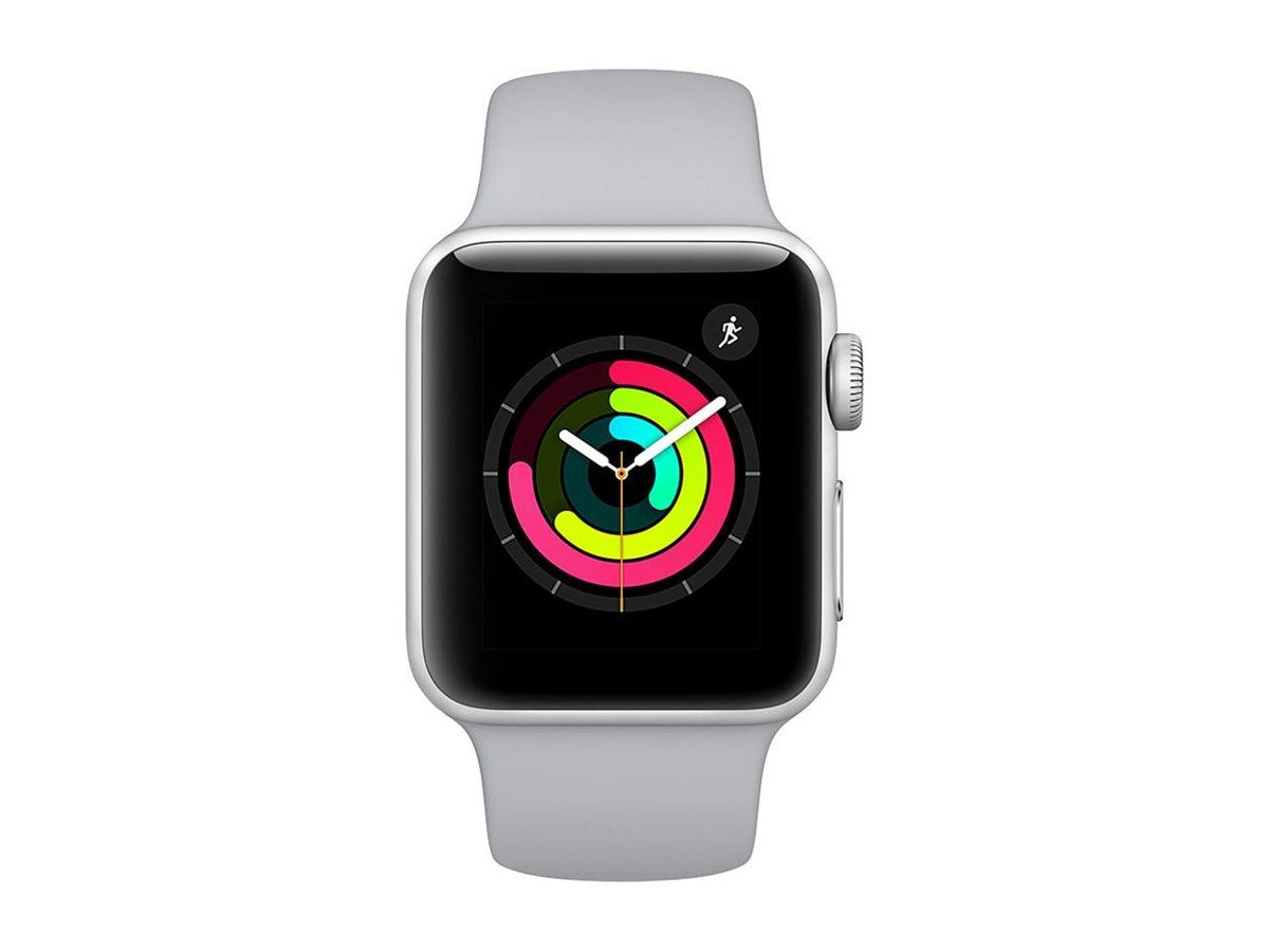 Apple Watch Series 3 Gps Space Gray Aluminum Case Thinner Spies Hecker 1 Liter With Black Sport Band 42mm Cell Phones Accessories