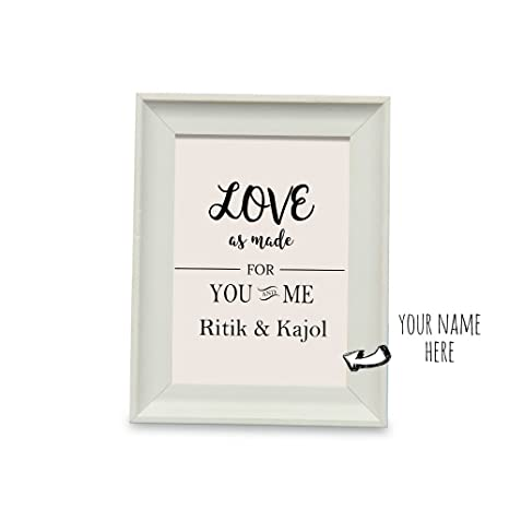 Buy You And Me Personalized Name Photo Frame Photo Frame 1 Home