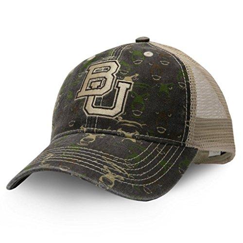 - FANOUFLAGE NCAA Adjustable Trucker Hat – Baylor Camo Baseball Cap