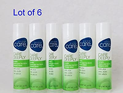 Avon Care's Care Deeply Lip Balm with Aloe (6 Pack)