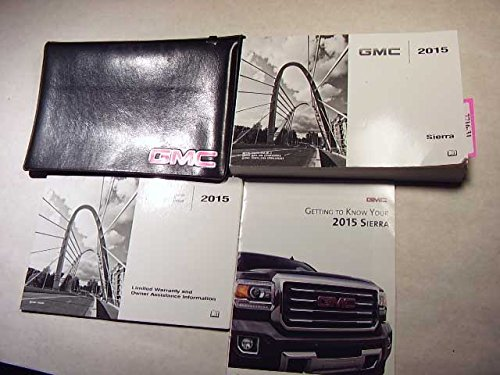 Gmc Sierra Owners Manual - 2015 GMC Sierra Owners Manual