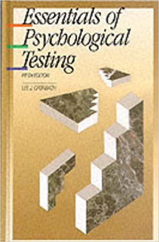 Amazon com: Essentials of Psychological Testing