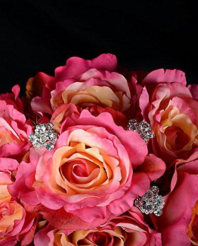Unik Occasions Swirl Pins Bouquet Jewelry, 2-Pack