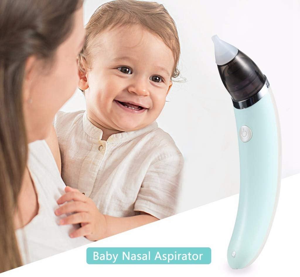 HS-ZM-01 Aspirador Nasal para bebés Limpiador de Nariz eléctrico ...