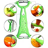 [Free Shipping] Vegetable Fruit Peeler Parer Julienne Cutter Slicer Gadgets Helper // Frutas verduras pelador parer cocina máquina de cortar el cortador en juliana H