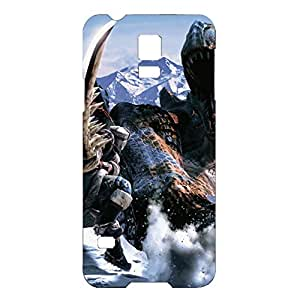 Magnificent Competition Design Monster Hunter Phone Case Unique Phone Cover for Samsung Galaxy S5 Mini