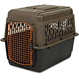 Ruff Maxx 32″ Kennel for Dogs Weighing 30-50 lbs, Camo/Orange