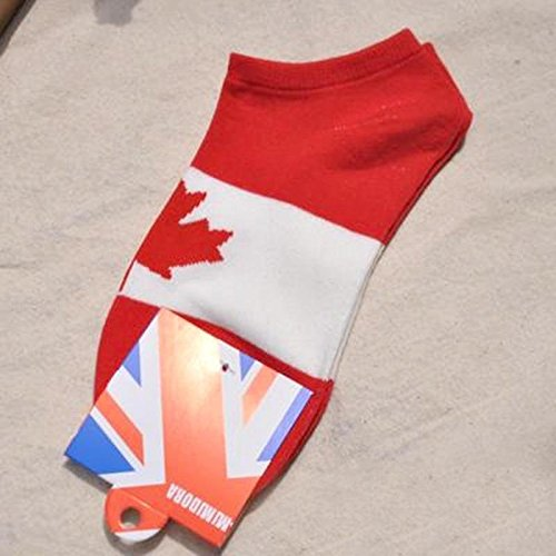 WXLAA Fashion World Cup Unisex Sports Cotton Short Ship Socks-Canada