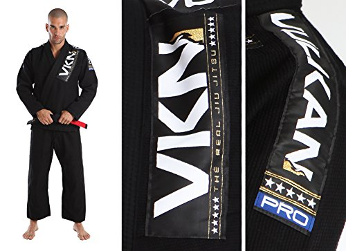 VKN PRO Jiu-Jitsu GI + 30 Day Comfort Guarantee + Free Submission & Position Video - IBJJF Competition Approved