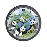 CafePress – Panda Bears – Unique Decorative 10″ Wall Clock Review