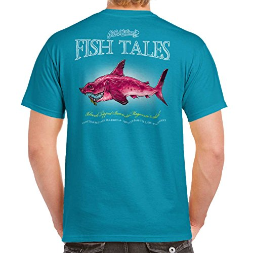 Bearded Shark Fish Sporting Goods Fishing Gear Funny Graphic T-Shirt Tee