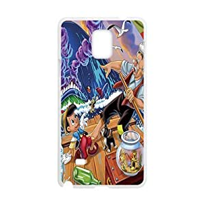 DAZHAHUI pinocchio disney Case Cover For samsung galaxy Note4 Case