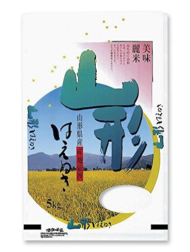 米袋 ラミ フレブレス 山形産はえぬき 出羽三山 10kg 1ケース(500枚入) MN-2300 B078T991G1  1ケース(500枚入) 10kg用米袋