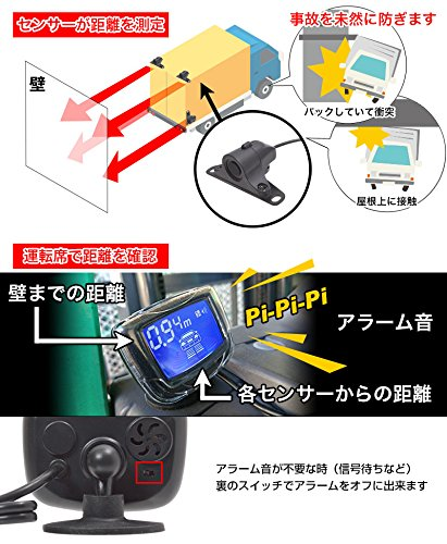 3 3 Fore-Sight Sanko PARKSEN1 Safety Sensor for Truck /& Construction Machinery Forklift Japanese Manual with Sankorerondono Shop