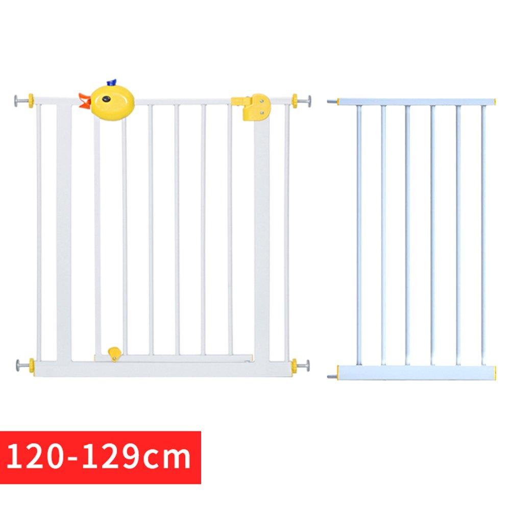 120129cm WHYDIANPU Dog fence dog fence pet safety door indoor Teddy dog railing isolation predection door (Size   120129cm)