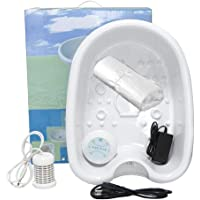 Lonic Detox Foot Bath Spa Machine with Large Tub, One Arrays, Tub Liners, Cell Cleanse SPA Machine Foot Spa Tub with 50…