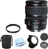 Canon EF 28-135mm f/3.5-5.6 IS USM Standard Zoom Premium Lens Bundle (White Box)- International Model