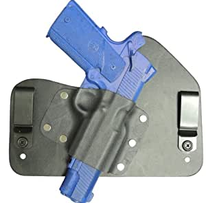 Everyday Holsters 1911 Railed All Models except Taurus and Sig Hybrid IWB Right Hand Black