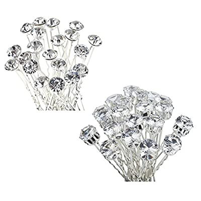 40pcs Hair Pins / Slides / Barrettes / Weddings Brides / Proms / Balls Hairstyles Decorations
