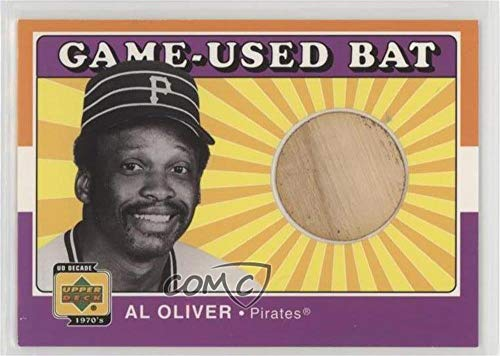 Al Oliver (Baseball Card) 2001 Upper Deck Decade 1970's - Game-Used Bats #B-AO