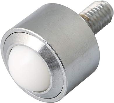 Heavy Duty Screw Carbon Steel Straight Bulls Eye Wheel Bearing 15mm Steel Ball Metal Transfer Bearing