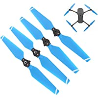 Drone Fans Folding 8330F Propellers Colorful Quick Release Blades for DJI MAVIC PRO Blue
