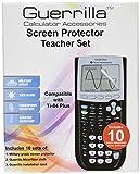 Guerrilla TI-84 Plus Screen Protectors – Classroom Pack of 10