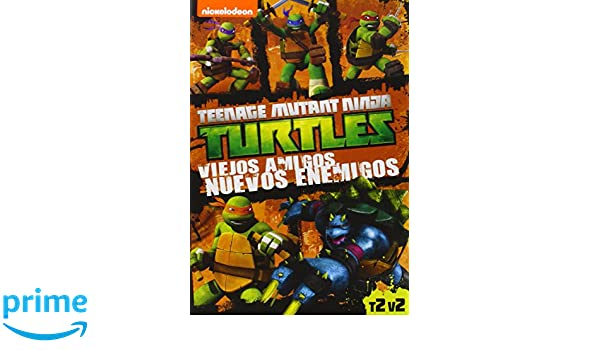 Las Tortugas Ninja: Viejos Amigos, Nuevos Enemigos DVD ...