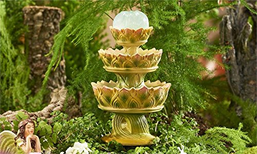 MINI WORLD CLASSIC FAIRIES FOUNTAIN DESIGN FIGURINE