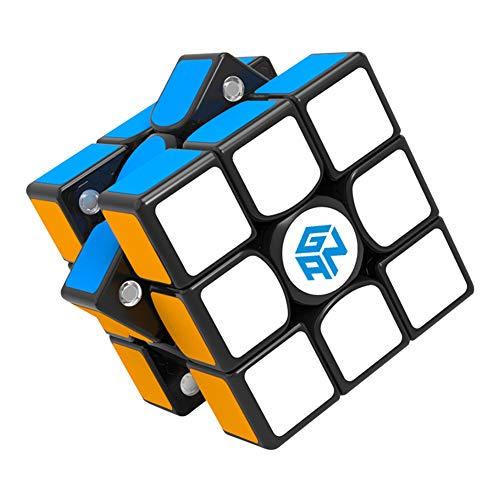 DGTD Rubik Cube 3D Speed Cube Bundle Puzzle Toy Brain Game Develop Intelligence Durable Puzzle Cube for Kids 3X3 Speed Cube,B