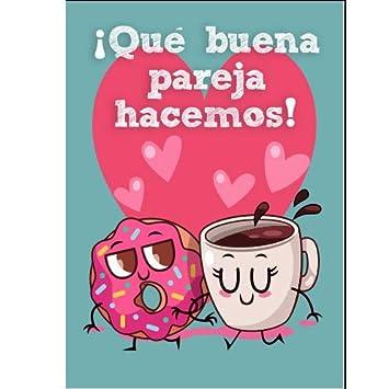 Enamorados Tarjeta Amor Donuts: Amazon.es: Juguetes y juegos