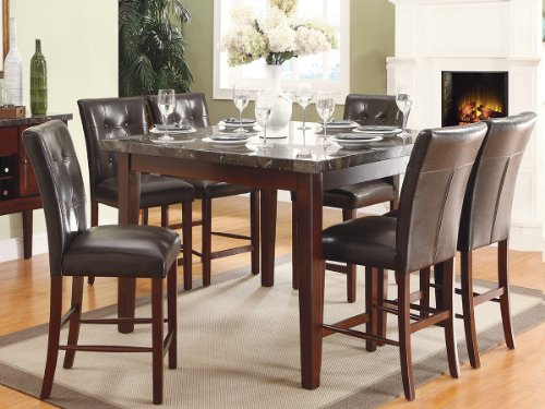 Decatur 7 PC Counter Height Dining Set by Homelegance in Espresso