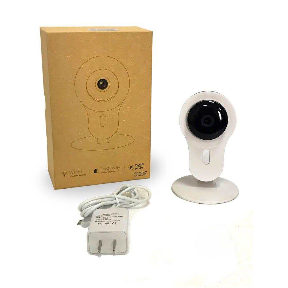 360 grados IP cámara HD 1280 x 720P Cámara de vigilancia hogar con mando a distancia: Amazon.es: Bricolaje y herramientas